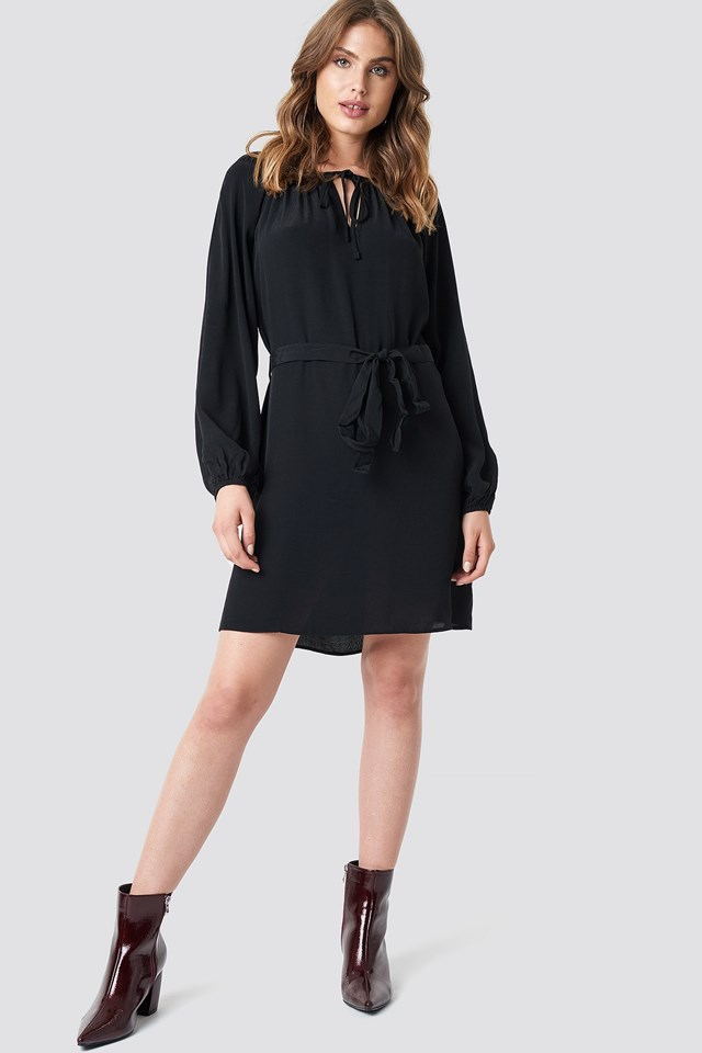The Casual Black Dress Look