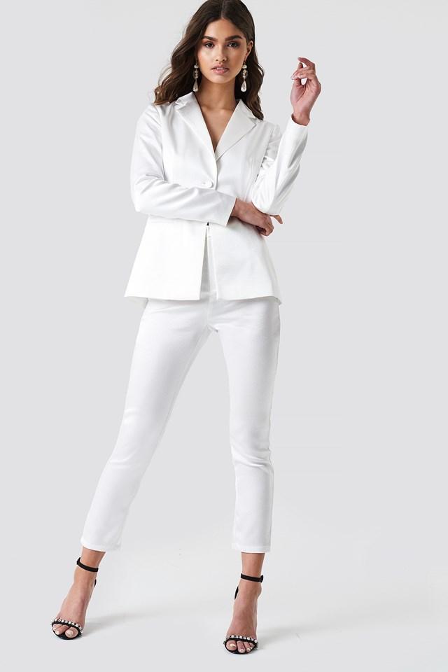 Classical White Suit