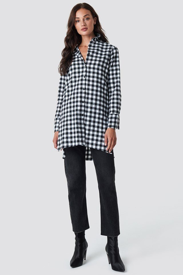 Casual Long Shirt Outfit