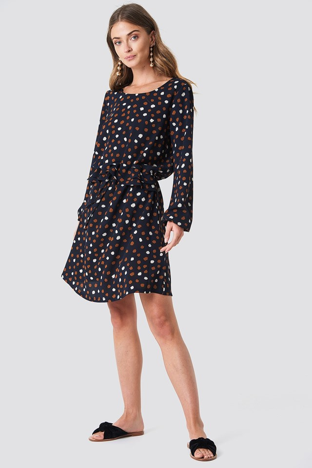 The Casual Dotty Dress Look