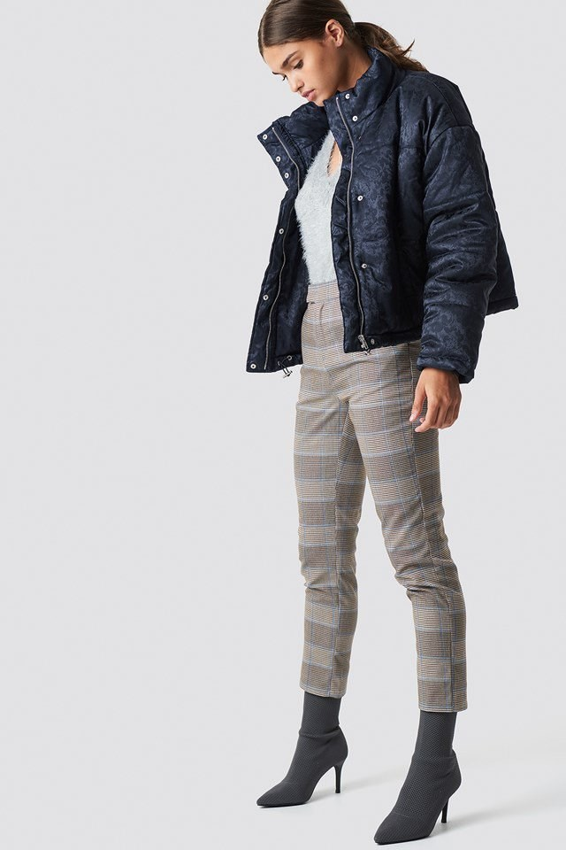 Cropped Padded Jacket Outfit