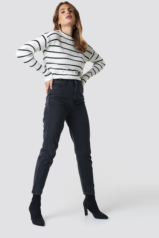 Striped Knitted Outfit