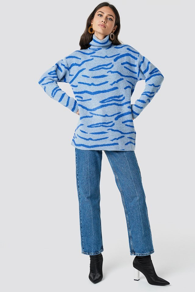 Blue Tiger Outfit