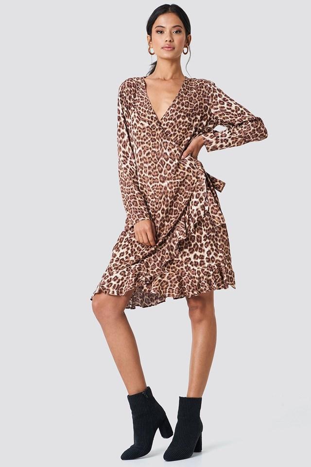 Leoprint dress