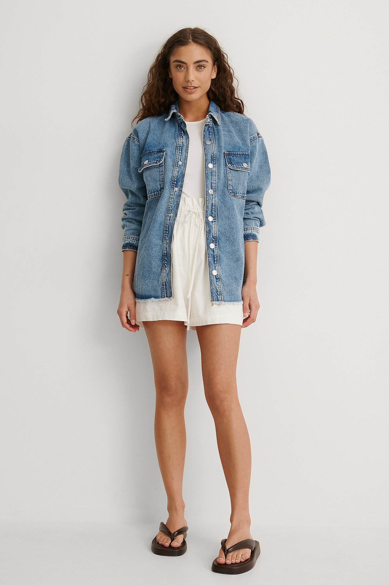 Maia Overshirt Outfit.