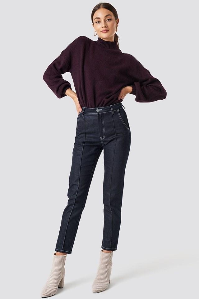 Urban Dark Sweater Outfit