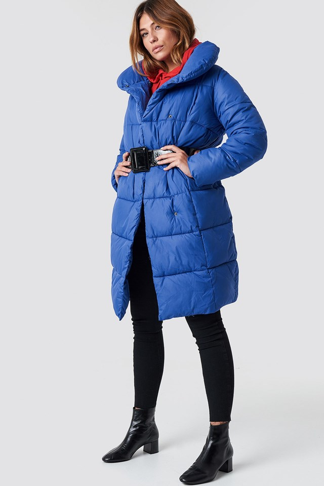 Long Puffy Jacket Outfit