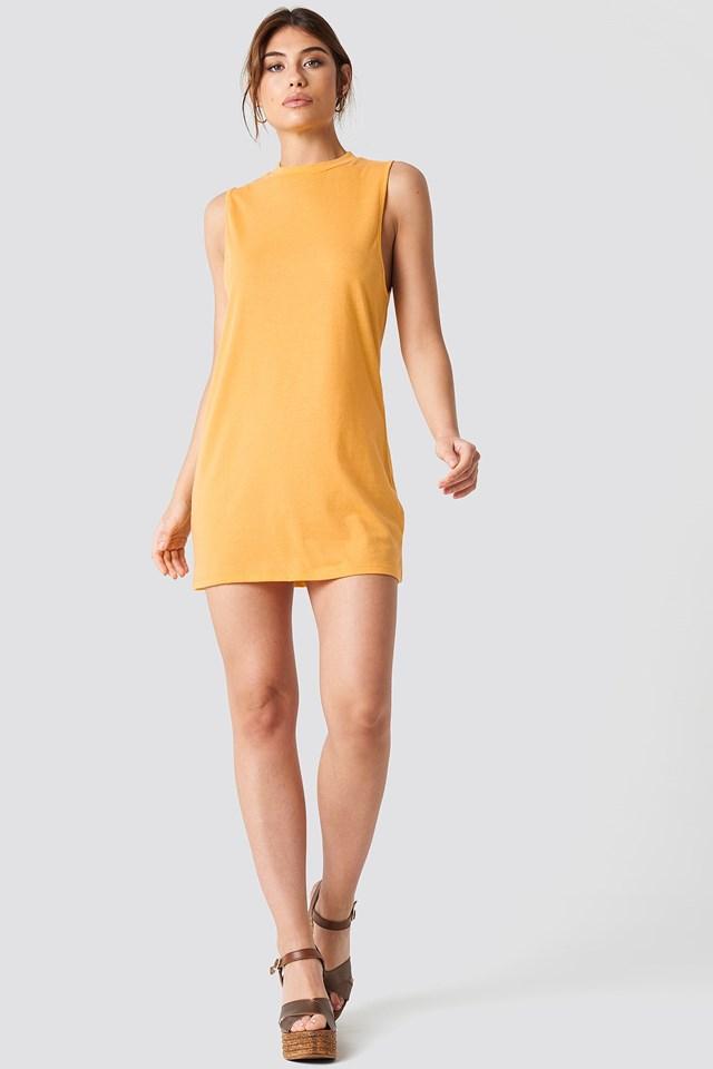Loose Sleeveless Dress