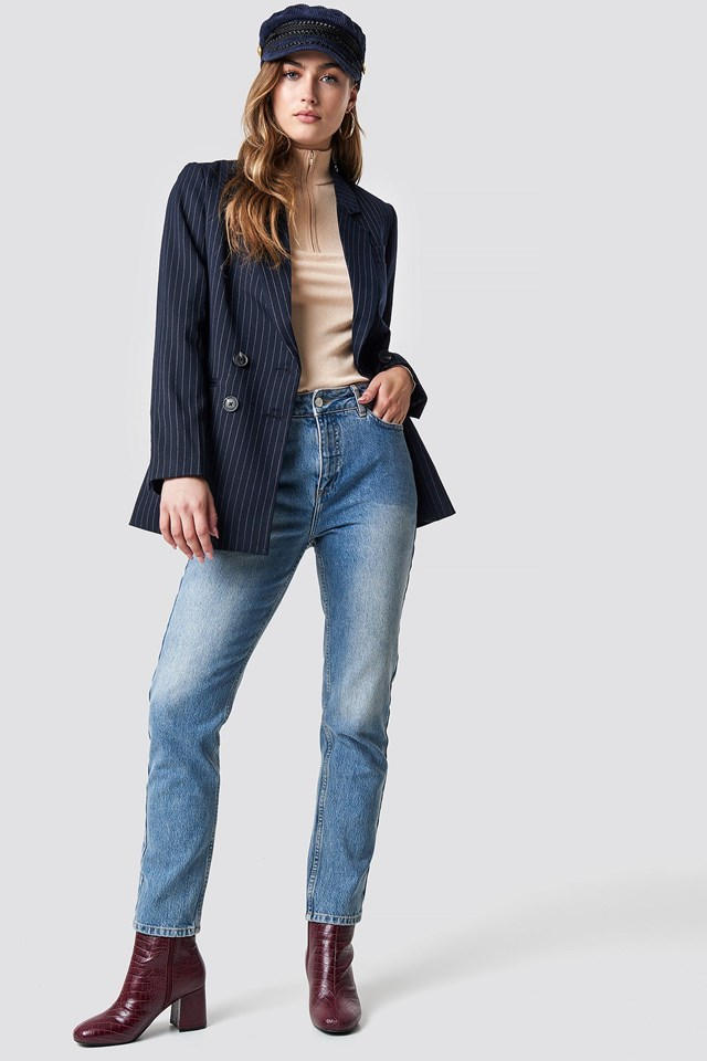 Cool Casual Blazer Outfit