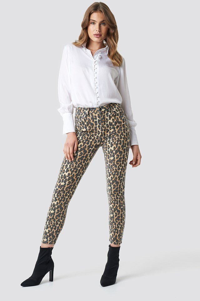 High Belly Skinny Jeans