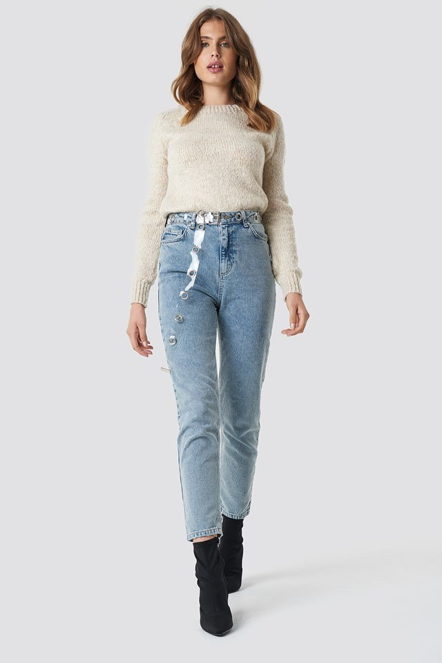 High Mom Jeans