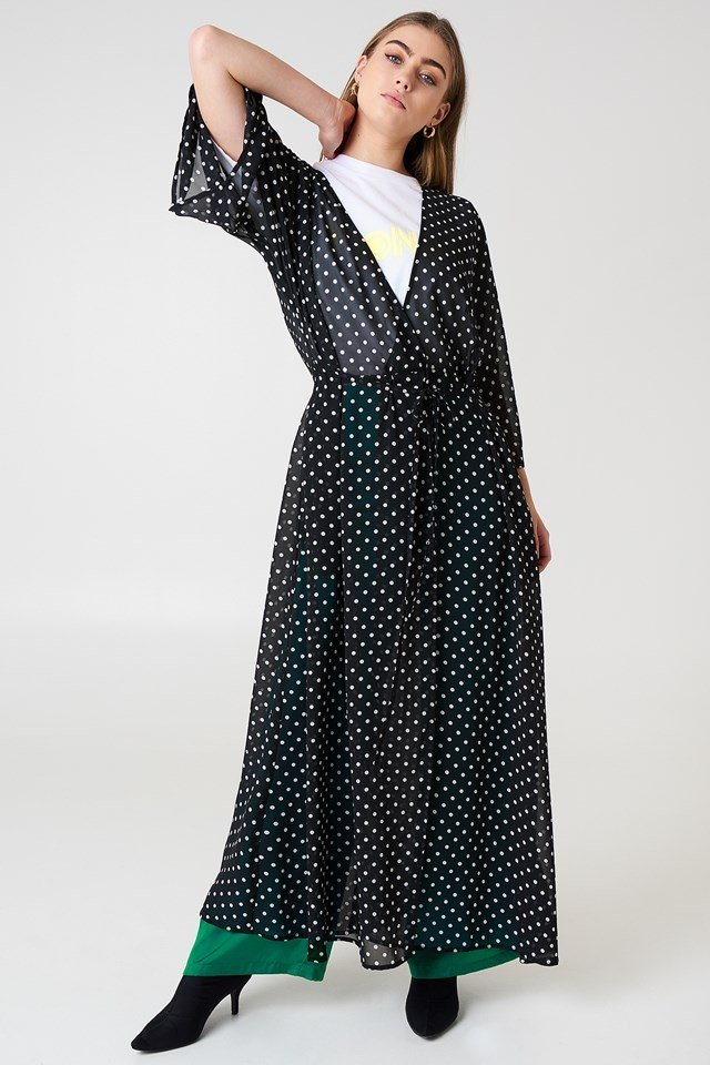 Chiffon Coat Dress