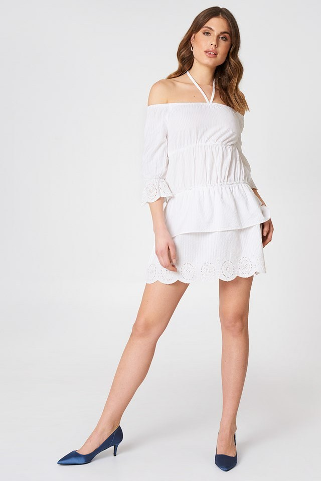 Off Shoulder String Dress