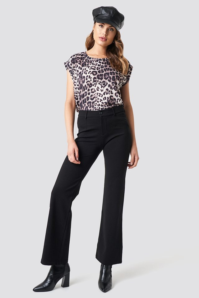Leo Top X Mid Rise Pants Outfit