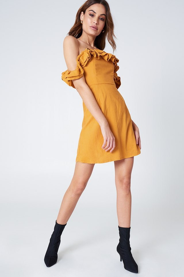 Frill Dress Outfit