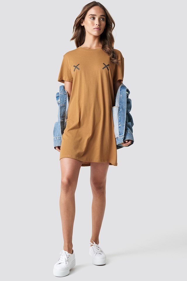 Double X T-shirt Dress
