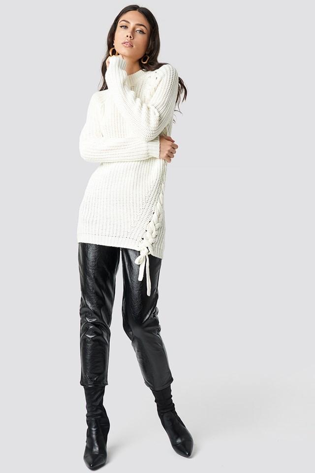 Samira Side Braid Knit