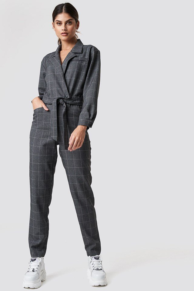 One-Piece Suit Grey