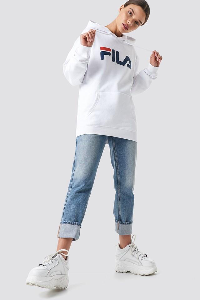 Classic Pure Hoody Kangaroo White Outfit