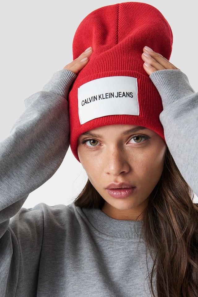J Calvin Klein Jeans Beanie Outfit