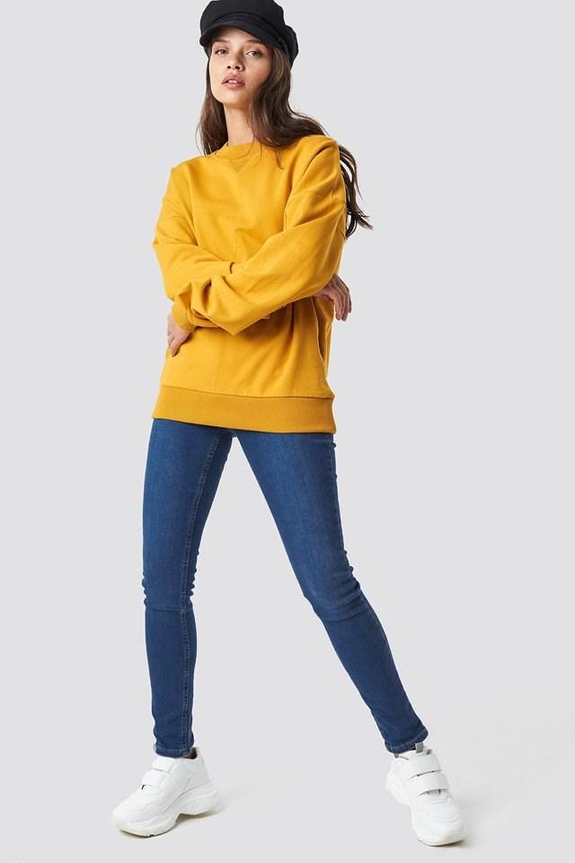 Basic Oversize Sweatshirt Outfit