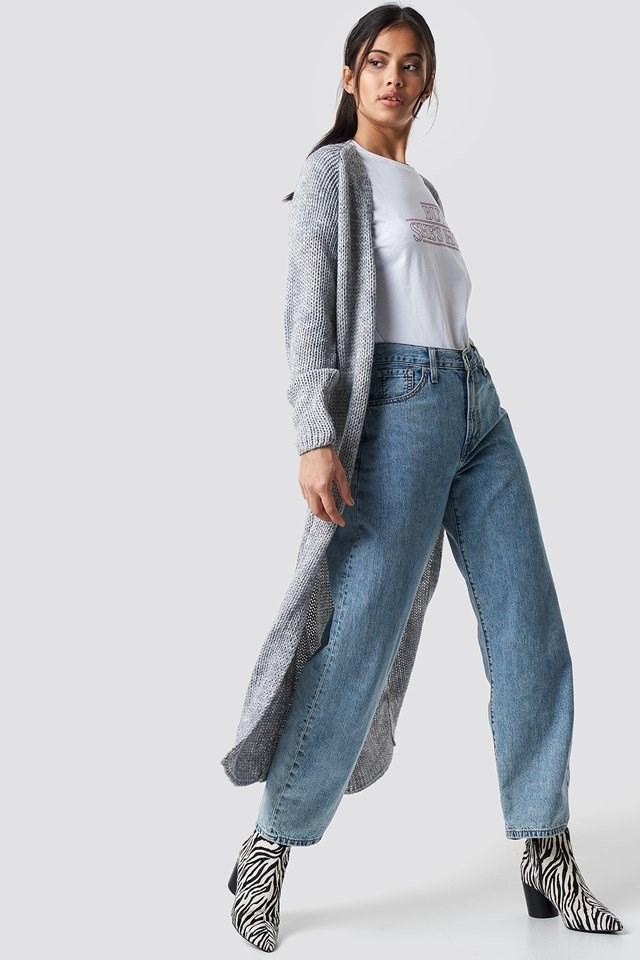 Emina long cardigan outfit
