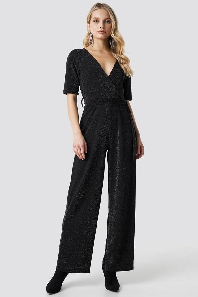 City Jumpsuit Black Outfit