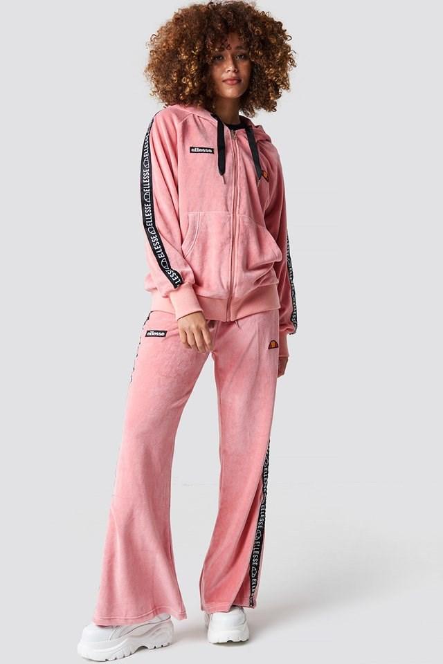 Pink Hoodie.