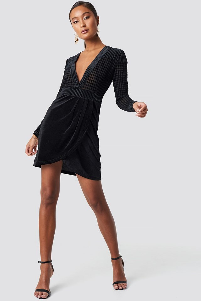 Black Party Dress Outfit