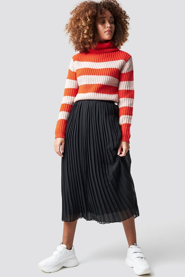 Pink Stripe Knit