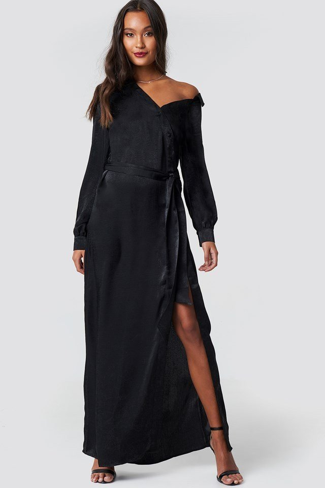 Black Maxi Dress Outfit