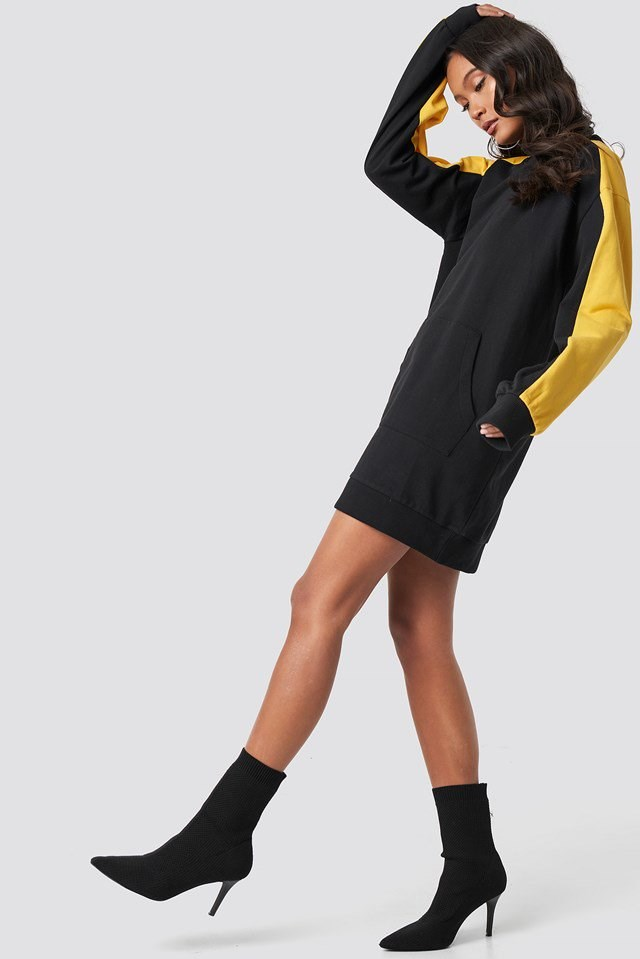 Sweatshirt Dress Outfit