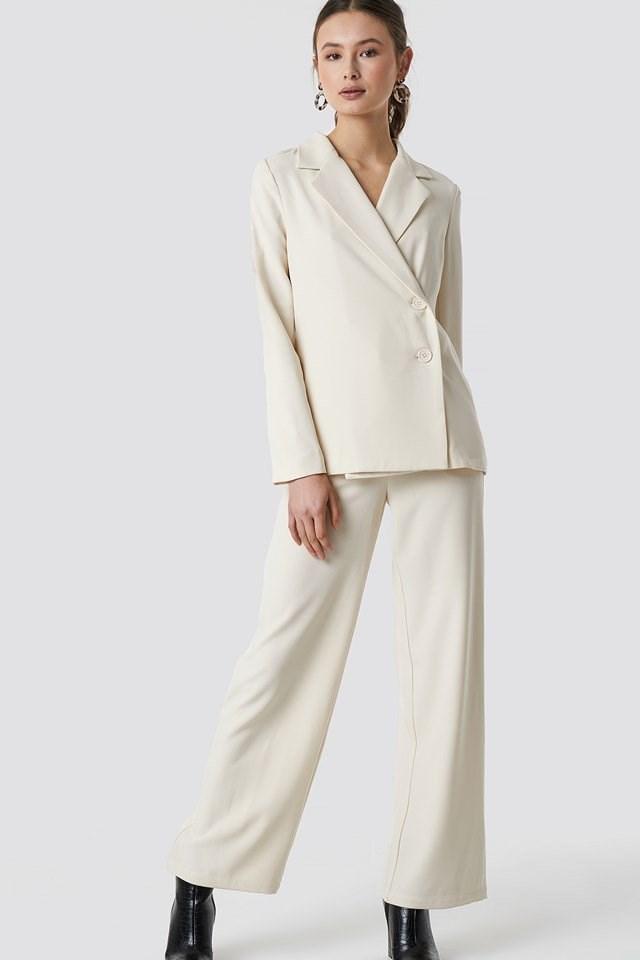 Wrap Blazer Outfit