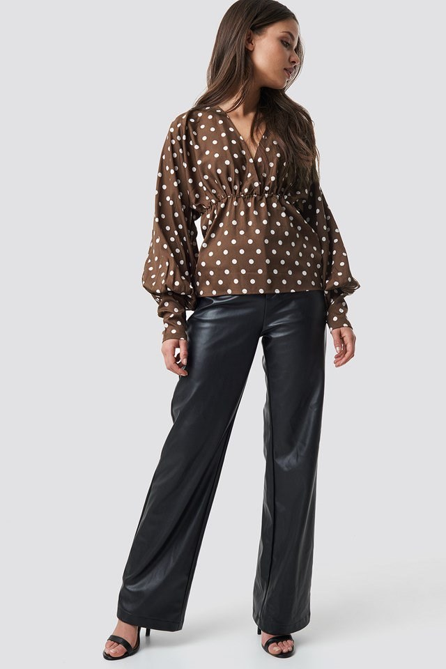 Ballon Sleeve Blouse outfit