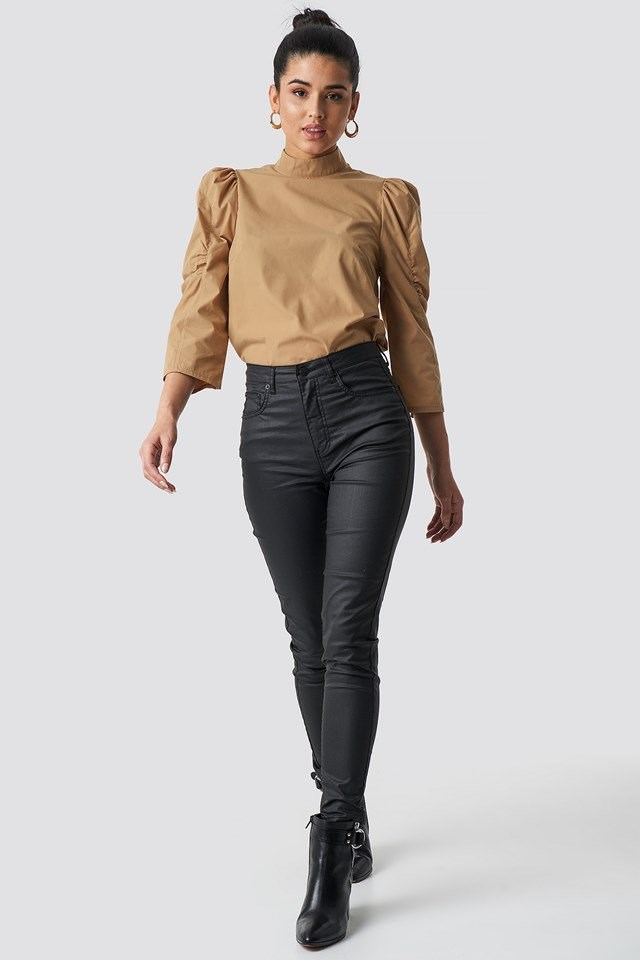 Blouse outfit.