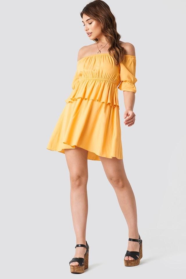 Off Shoulder Mini Dress Outfit