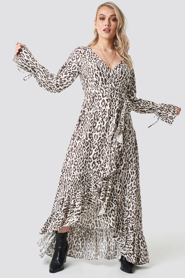 Leopard Maxi Dress Outfit