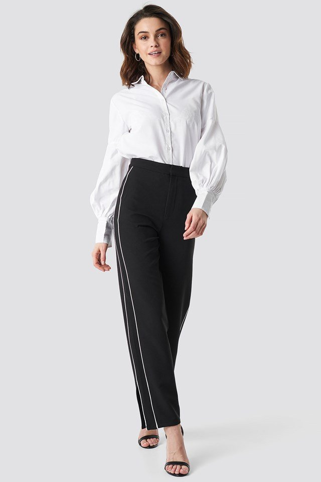 Side Stripe Pant Outfit