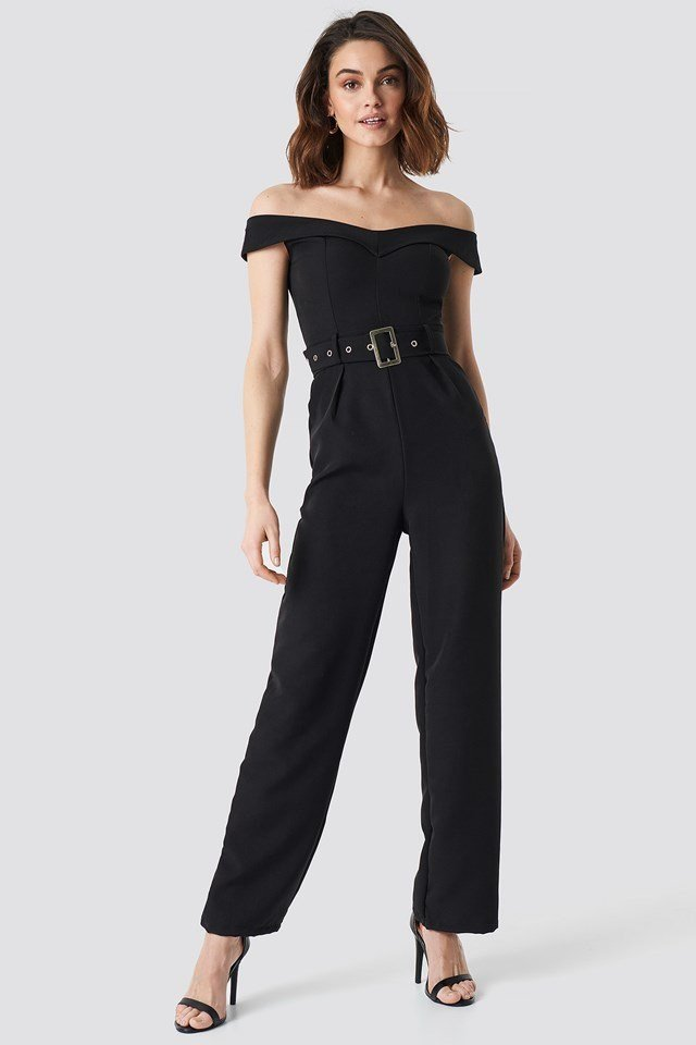 Off Shoulder Jumpsuit