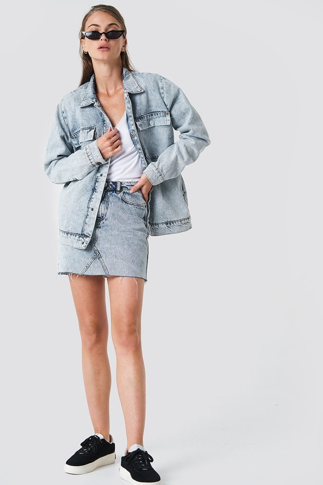 Washed Denim Outfit