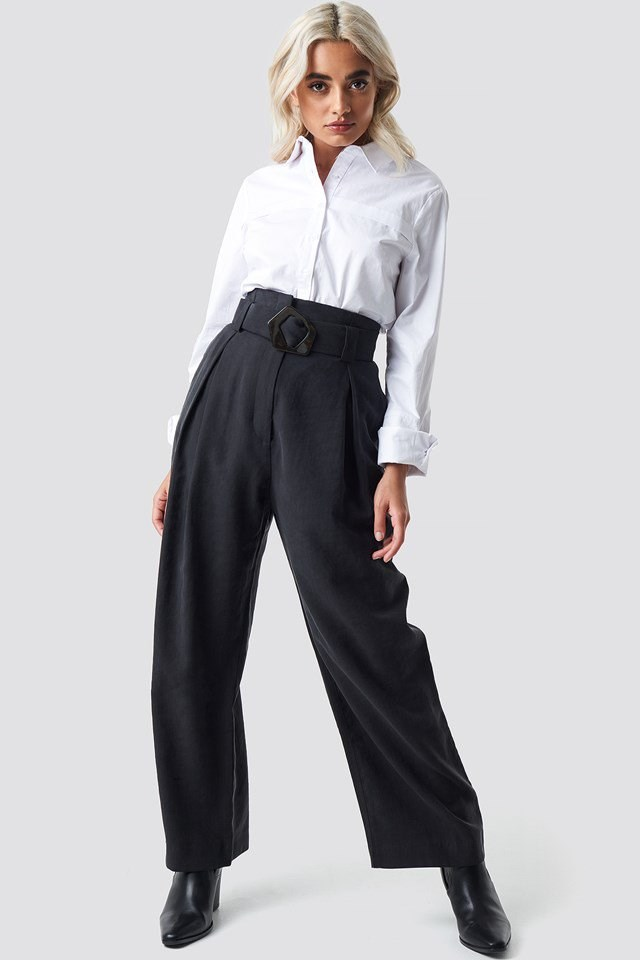 Trouser outfit.
