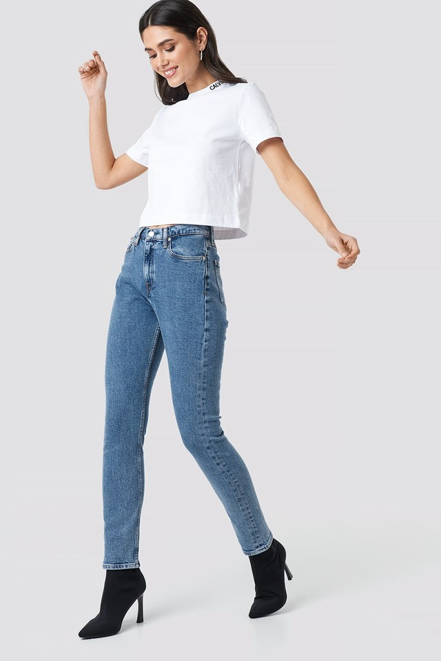 Cropped Skater Tee Outfit
