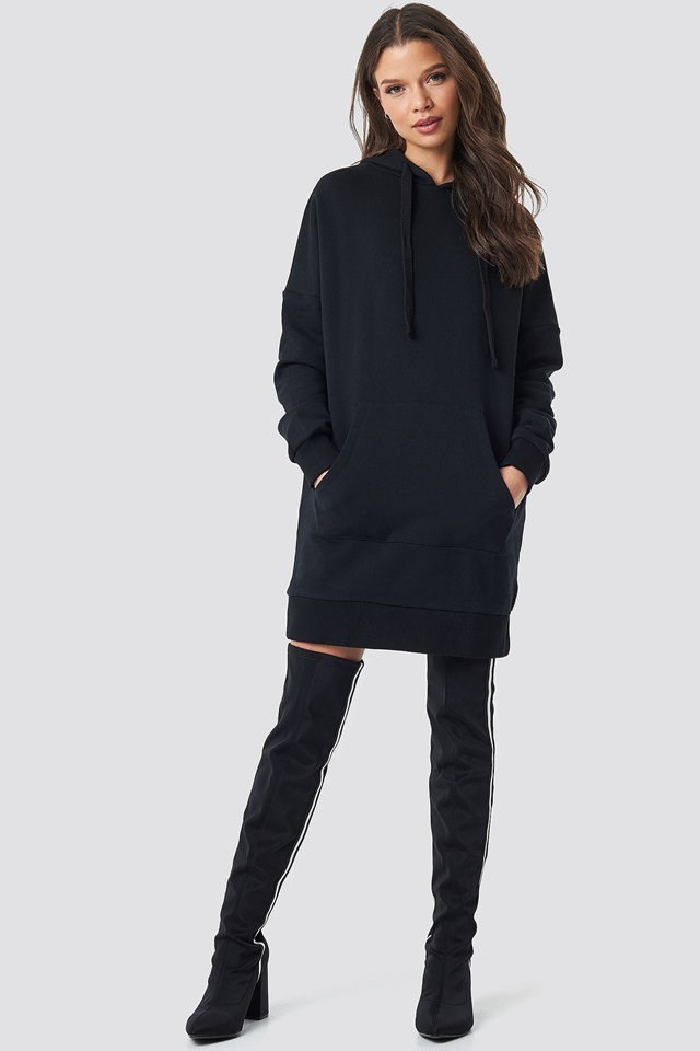 Hoodie Dress Outfit