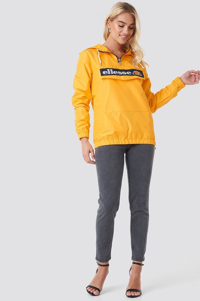 El Mont 2 Half Zip Jacket Yellow Outfit