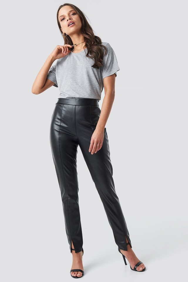 Viscose Basic Tee Outfit