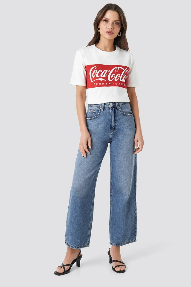 Tommy x Coca Cola Tee White Outfit