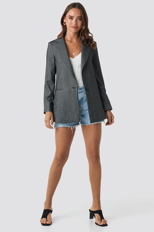 Duomo Blazer Grey Outfit