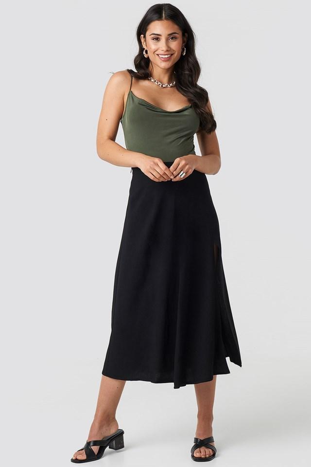 Meg Strap Body Green Outfit