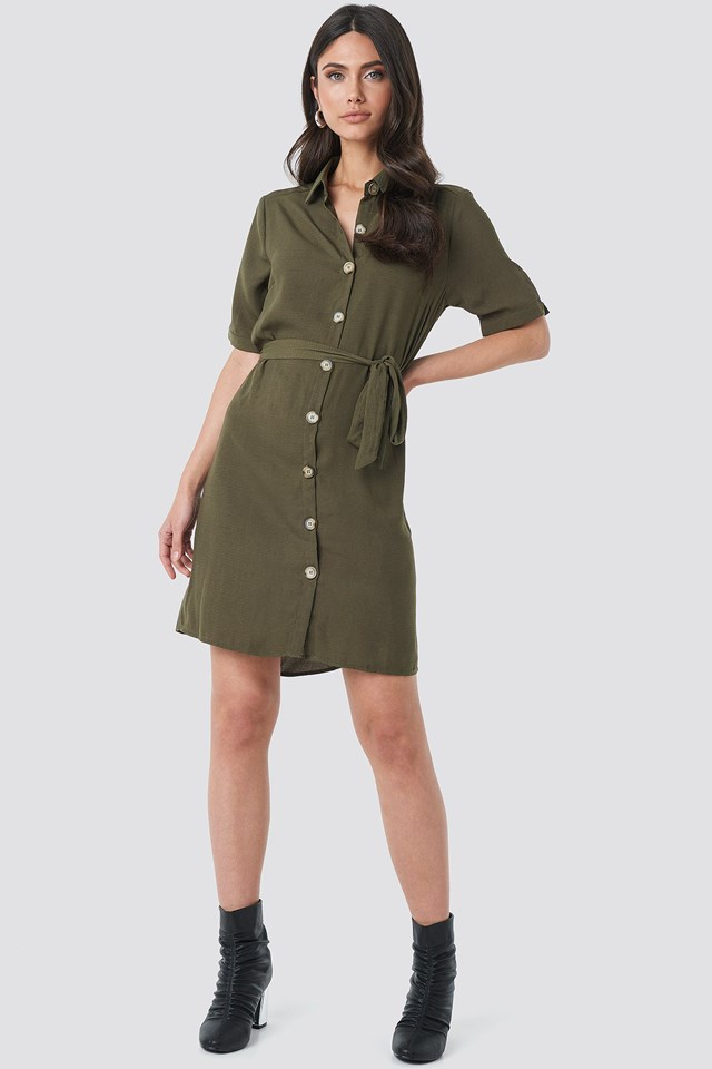 Erob Dress Green Outfit