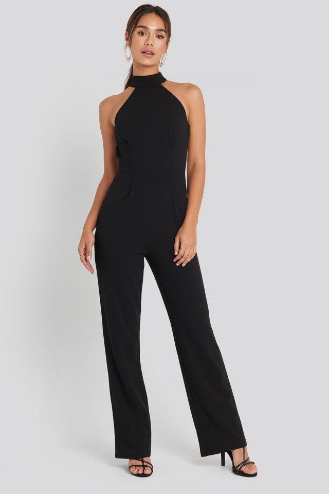 High Neck Jumpsuit Outfit